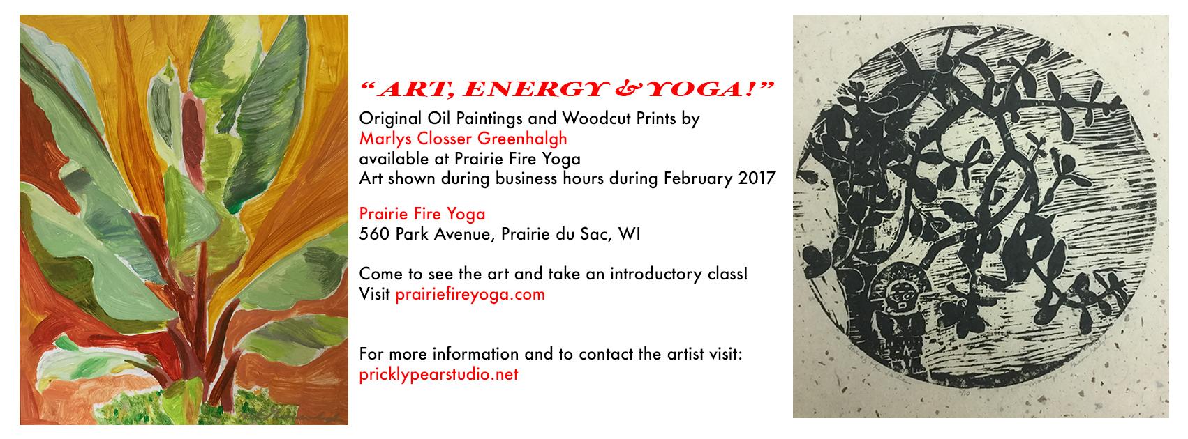Yoga Show Flyer